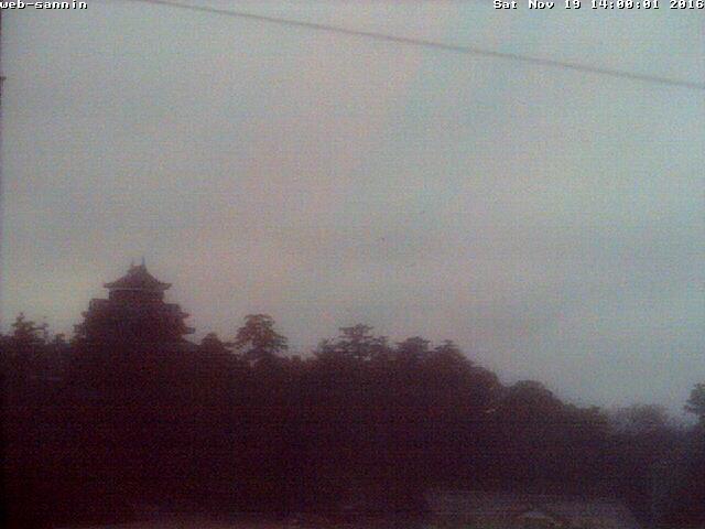 現在の松江城