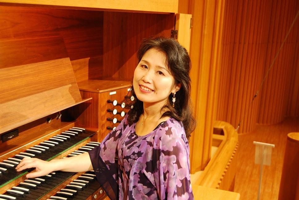 写真:第8回講師 オルガニスト米山麻美(プラバホール専属オルガニスト)